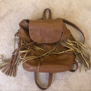 MOSSIMO TASSEL BACKPACK